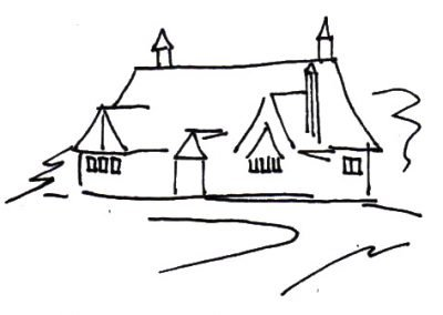 graphic-drawing-church